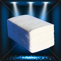 Салфетки универсальные для настольных диспенсеров, белые Люкс 250 л