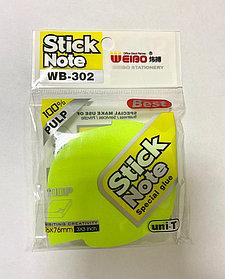 Бумага для заметок STICK NOTE WB-302