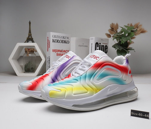 "Кроссовки Nike Air Max 720 ""White Rainbow"" (40-44), фото 2"