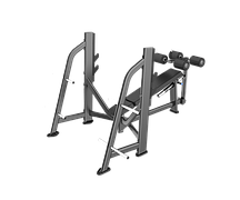 Скамья для жима под углом вниз DHZ Olympic Decline Bench E7041