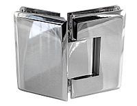 Петля стекло-стекло угол поворота 135˚ | FGD-62 ZN/CR | Цинк