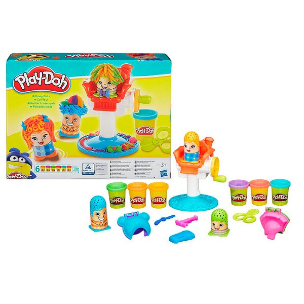 """Play-Doh Игровой набор """"Сумасшедшие прически"""""""