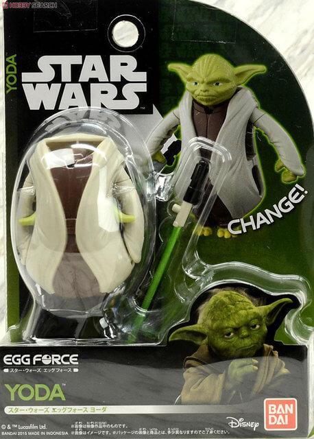 Яйцо-трансформер Стар Ворс (Star Wars) ЙОДА