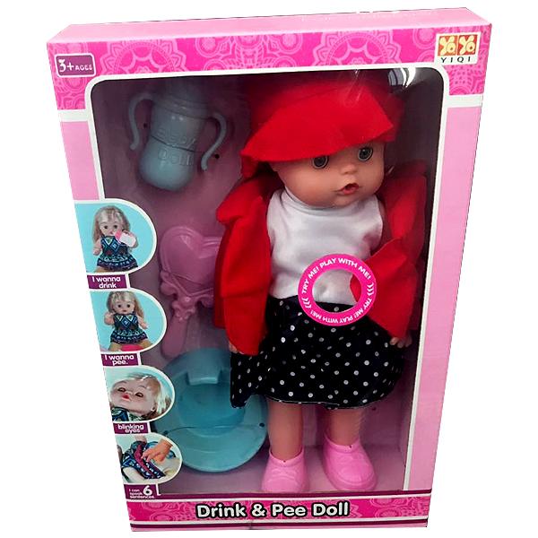 Кукла YIQI Drink & Pee Doll