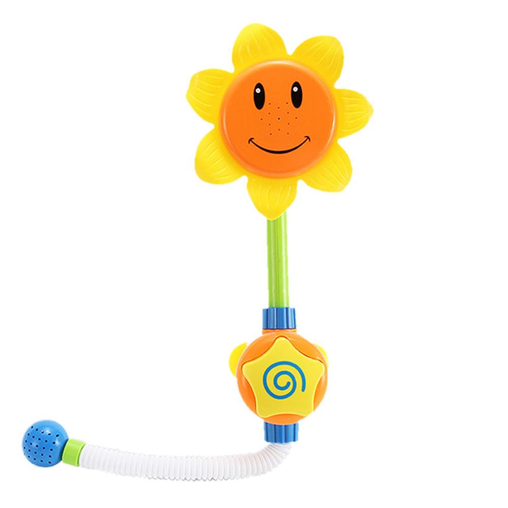 "Игрушка для купания Bao Chen Jia Toys Sun Flower лейка-душ  ""Подсолнух"""