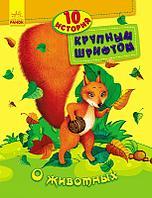 Книга 10 историй крупным шрифтом О животных