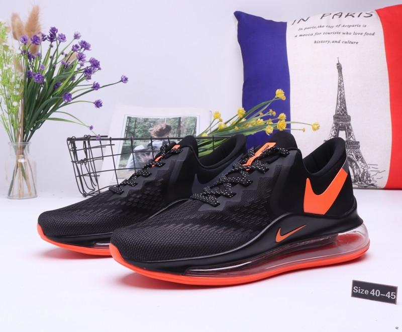 "Кроссовки Nike Air Max 720 ""Black\Orange"" (40-45)"