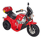 Электро-Мотоцикл AIM BEST MD-1188, 6V/4Ah*1, колеса  пластик 90х43х54 см, Красно-Черный