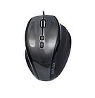 Мышь Delux DLM-535OUС (Мышь, Delux, DLM-535OUС, 7D, Оптическая,  1000-1500-2000-3000dpi, USB, Функция возврата курсора в цен)