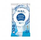Влажная туалетная бумага AURA Ultra comf 20 шт