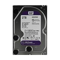 Жёсткий диск для видеонаблюдения Western Digital  WD20PURZ Purple