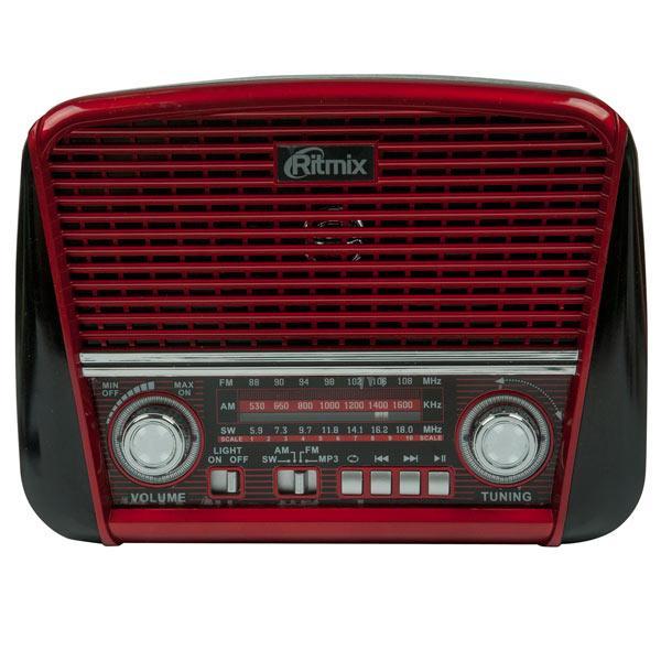 Радиоприемник портативный Ritmix RPR-050 (Радиоприемник  портативный Ritmix RPR-050 red)