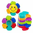 "Набор игрушек для ванной Happy Baby ""FLOWER PUZZLE""  (Набор игрушек на пальцы Happy Baby ""LITTLE FRIENDS"""