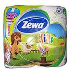 Туалетная бумага Zewa Deluxe Kids 3-ply 4-roll (5622)