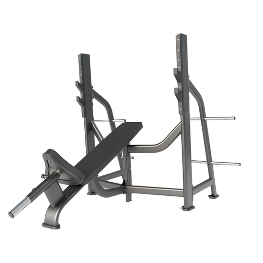 Скамья для жима под углом вверх DHZ Olympic Bench Incline E7042