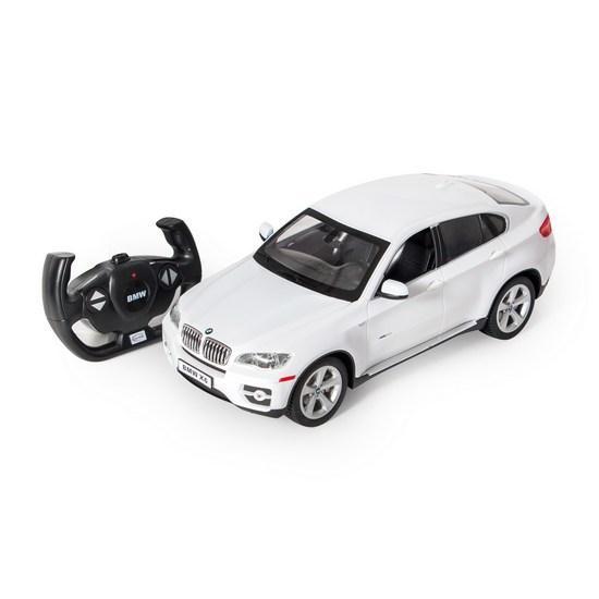Машина RASTAR Радиоуправляемая BMW X6 31400B/31400R/31400W  (Радиоуправляемая машина, RASTAR, 31400W, 1:14,