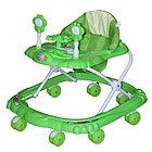 Ходунки BAMBOLA КРАБИК ( BAMBOLA Ходунки КРАБИК  (8 колес,игрушки,муз) 6 шт в кор.(66*56*47) GREEN зеленый)