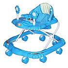 Ходунки BAMBOLA КРАБИК ( BAMBOLA Ходунки КРАБИК  (8 колес,игрушки,муз) 6 шт в кор.(66*56*47) BLUE голубой)