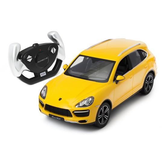 Машина RASTAR радиоуправляемая Porsche Cayenne Turbo  42900 (Радиоуправляемая машина, RASTAR, 42900W, 1:14, Porsche Cayenne Turbo, Пластик, 40 Mhz,