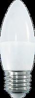 Светодиодная лампа ПРОГРЕСС STANDARD СВЕЧА C37 9Вт E27 3000К