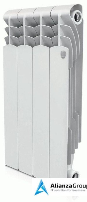 Биметаллический радиатор Royal Thermo Revolution Bimetall 500 4 секц.