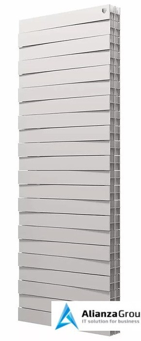 Биметаллический радиатор Royal Thermo Piano Forte Tower/Bianco Traffico 18 секций