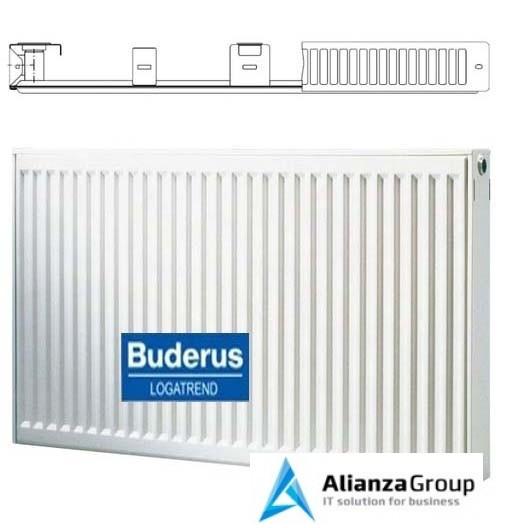 Стальной панельный радиатор Тип 10 Buderus Радиатор K-Profil 10/600/1200 (24) (C)