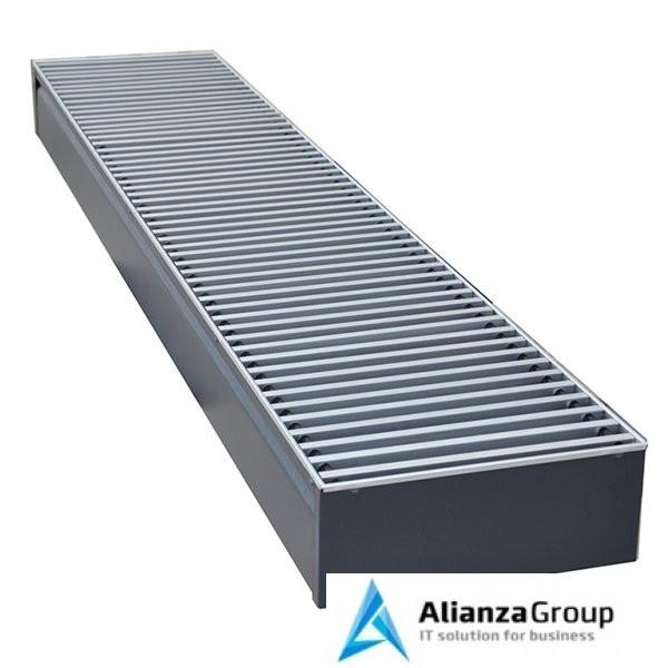 Внутрипольный конвектор длиной 1,1 м - 1,5 м КЗТО Бриз 200x120x1500