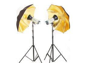 Студийный фотозонт на отражение (золото) 83 см, фото 2