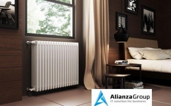 Стальной трубчатый радиатор 5-колончатый Arbonia 5090/08 N12 3/4 RAL 9016