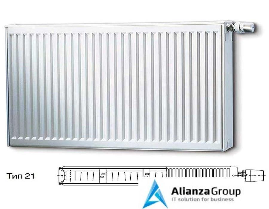 Стальной панельный радиатор Тип 21 Buderus Радиатор K-Profil 21/400/800 (36) (C)