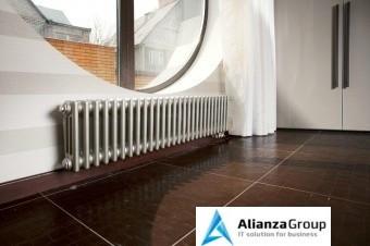 Стальной трубчатый радиатор 3-колончатый Arbonia 3050/17 N69 твв RAL 9016