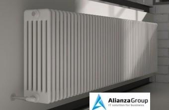 Стальной трубчатый радиатор 6-колончатый Arbonia 6035/12 N69 твв RAL 9016