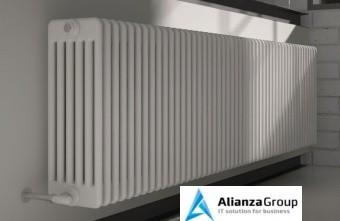 Стальной трубчатый радиатор 6-колончатый Arbonia 6055/15 N12 3/4 RAL 9016