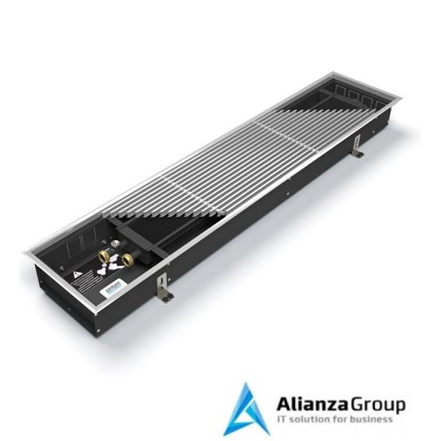 Внутрипольный конвектор длиной 1,1 м - 1,5 м Varmann Ntherm 300x150x1400