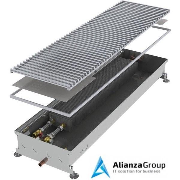 Внутрипольный конвектор длиной 2,1 м - 3 м Minib COIL-PO 2250