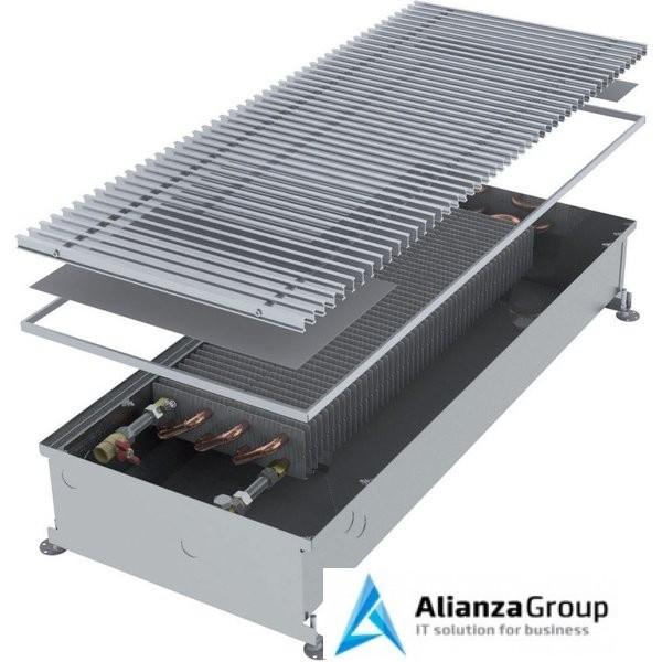 Внутрипольный конвектор длиной 1,6 м - 2 м Minib COIL-PMW165 1750