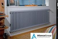 Стальной трубчатый радиатор 2-колончатый Arbonia 2057/30 N12 3/4 RAL 9016