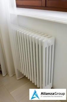 Стальной трубчатый радиатор 4-колончатый Arbonia 4055/15 N69 твв RAL 9016
