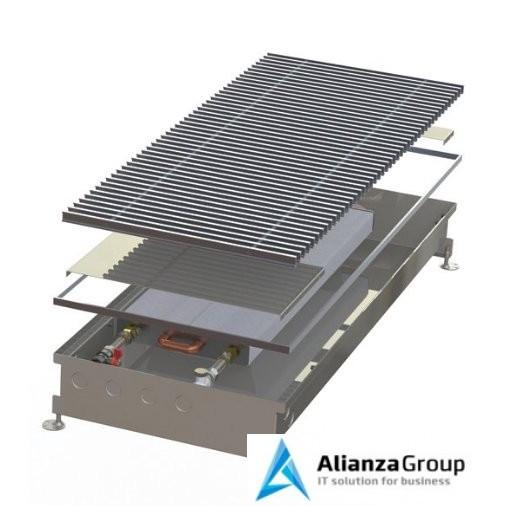 Внутрипольный конвектор длиной 1,6 м - 2 м Minib COIL-PMW115 2000