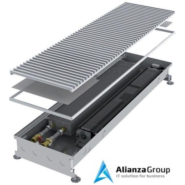 Внутрипольный конвектор длиной 1,1 м - 1,5 м Minib COIL-KT 1500