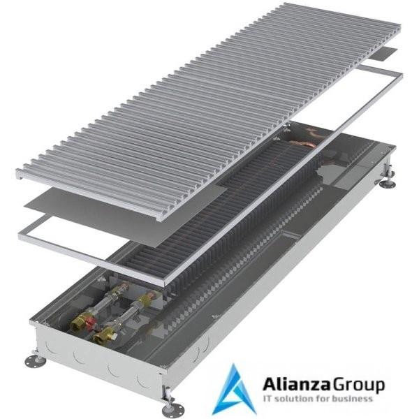 Внутрипольный конвектор длиной 30 см - 1 м Minib COIL-PT80 900