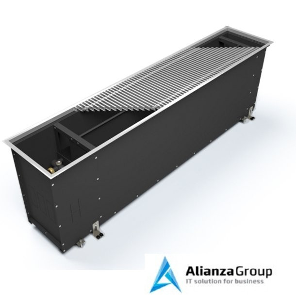 Внутрипольный конвектор длиной 1,6 м - 2 м Varmann Ntherm Maxi 370x600x1800