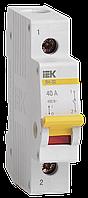 Выключатель нагрузки (мини-рубильник) ВН-32 1Р 40А ИЭК