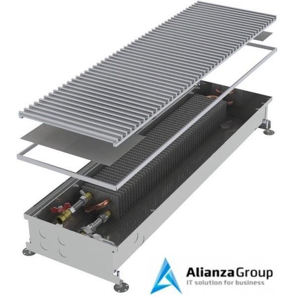 Внутрипольный конвектор длиной 2,1 м - 3 м Minib COIL-PT/4 2500
