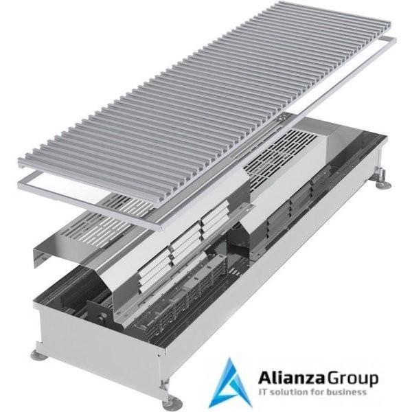 Внутрипольный конвектор длиной 1,1 м - 1,5 м Minib COIL-TE 1500