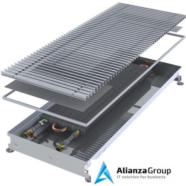 Внутрипольный конвектор длиной 2,1 м - 3 м Minib COIL-PMW90 2250