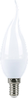 Светодиодная лампа ПРОГРЕСС STANDARD СВЕЧА НА ВЕТРУ C37T 9Вт E14 4000К