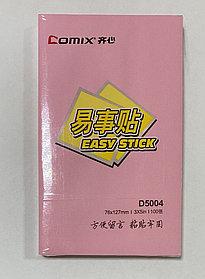 Бумага для заметок Comix 76*127 100 л.
