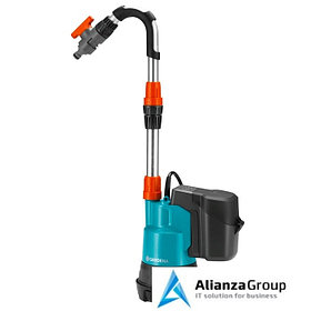 Дренажный насос Gardena 2000/2 Li-18 (01749-20.000.00) для резервуаров с дождевой водой